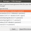 How to add, remove and purge ppa's using YPPA manager