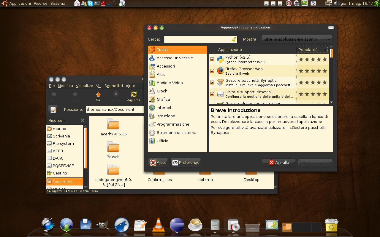Hardy Theme For Gnome Desktops Customization