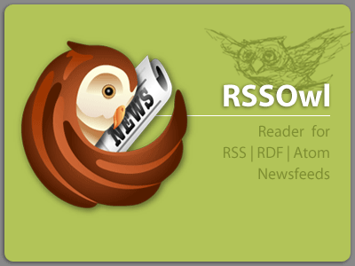 RSSOwl - RSS, RDF, Atom newsreader