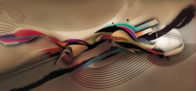 digital art abstracts colors