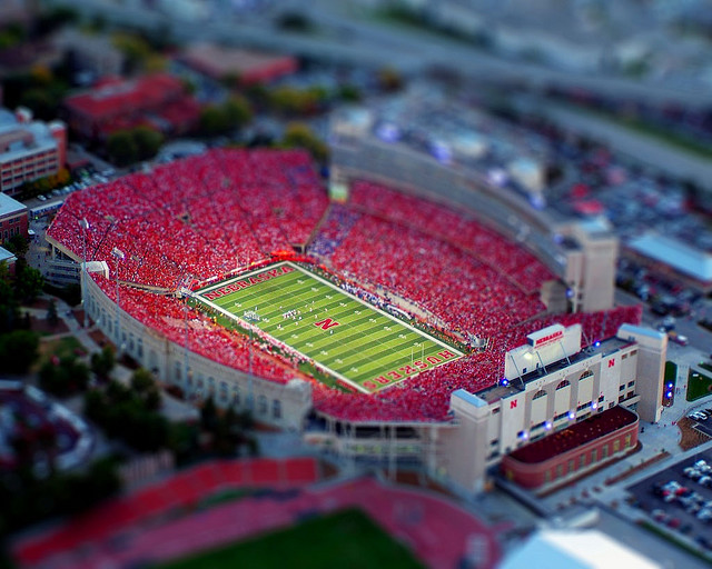 Little game tilt Shift Photography