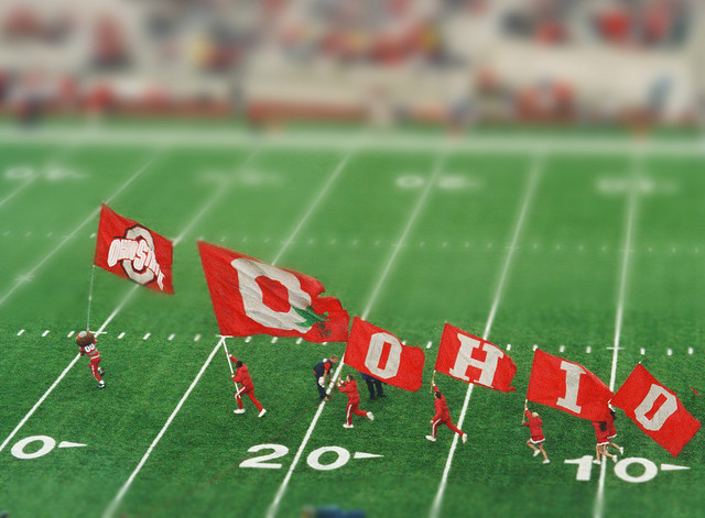 Miniature Buckeyes Tilt Shift Photography