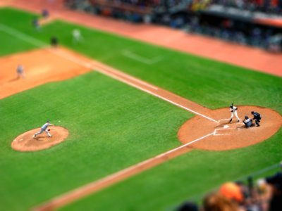 the pitch tilt Shift Photography
