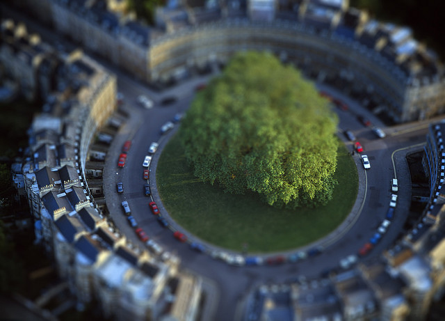 Amazing tilt Shift Photography