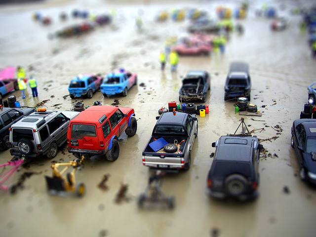 Car Excellent Tilt Shift Photography
