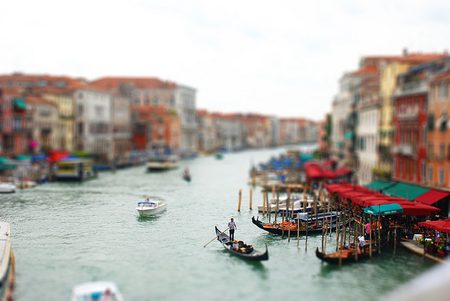 Faux miniature tilt Shift Photography