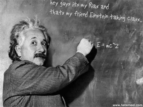 Hetemeel : Dynamic Einstein picture