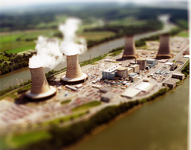 mini 3 mile island tilt Shift Photography