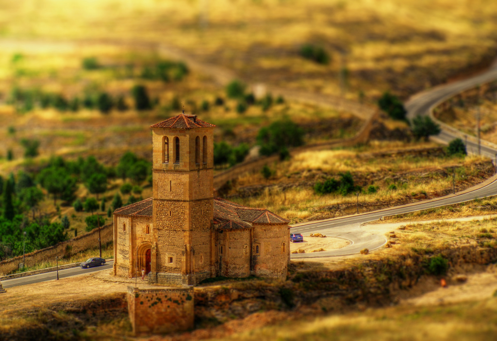 La Vera Cruz - Efecto Fake tilt Shift Photography