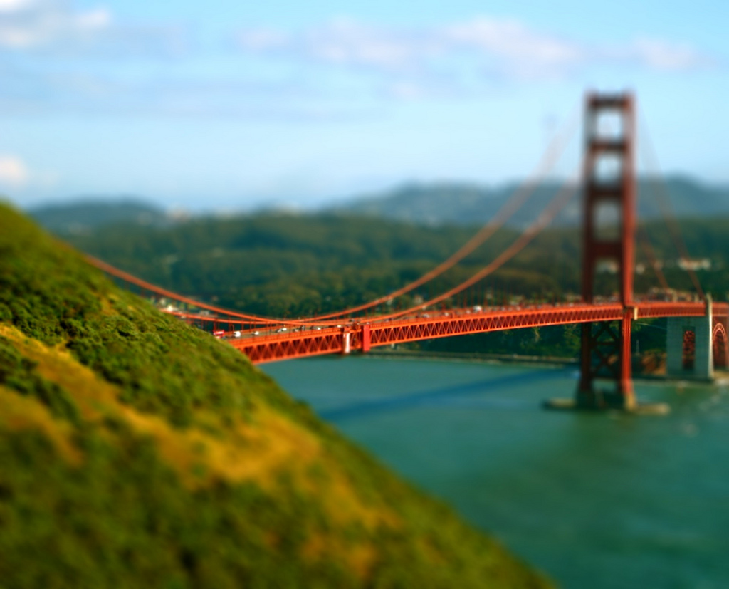 MiniGoden tilt Shift Photography
