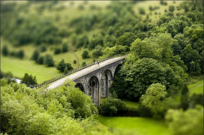 Monsal Head Tilt Shift Photography