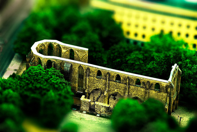 Architectural tilt Shift Photography