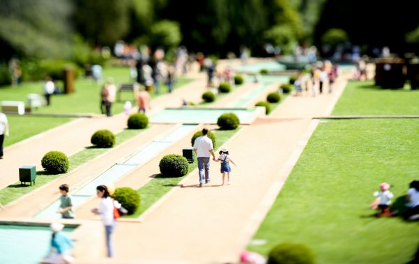 park Tilt-shift Photography