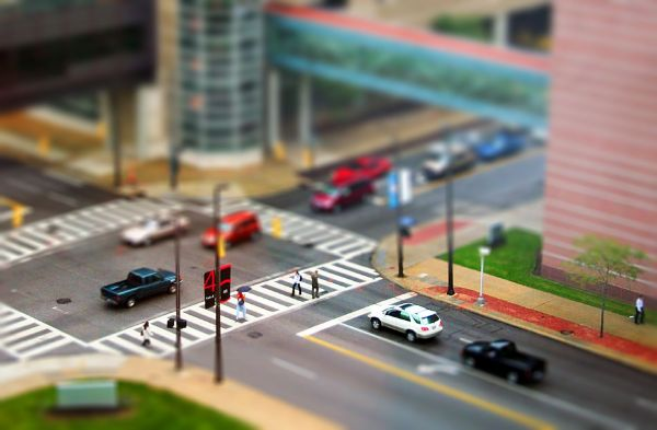 Road Tilt-shift Photography
