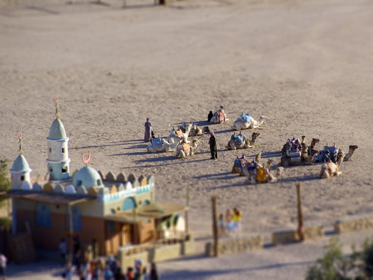 Create Tilt-shift Miniature Effect in Photoshop