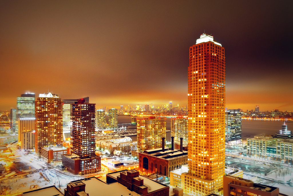 Jersey City, New York - Nightscape photography