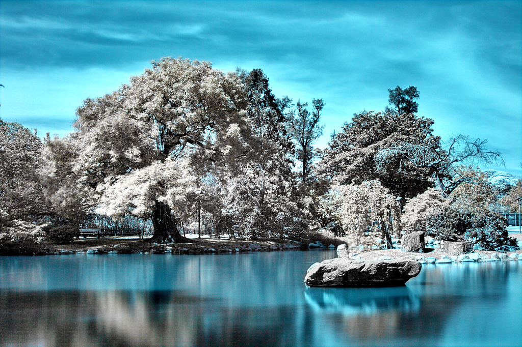 Japan infrared photography taken by lrargerich