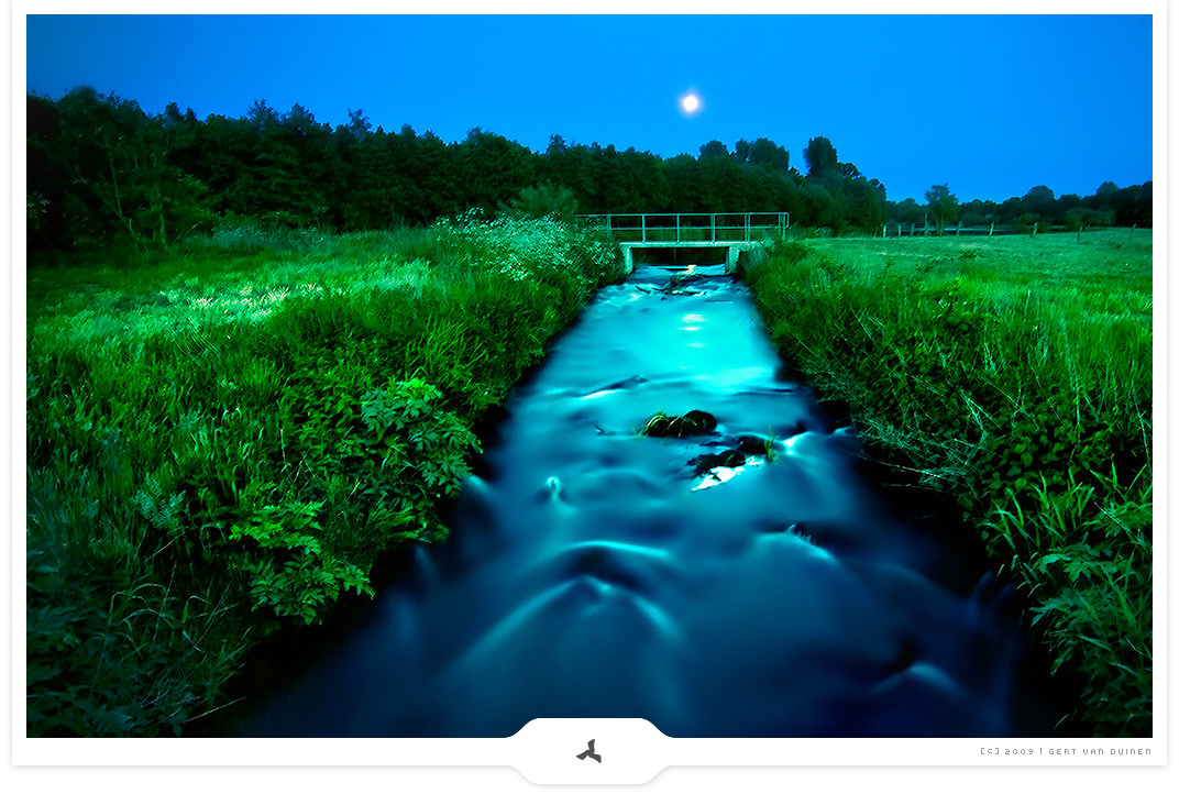 Evening Flow - Inspiring Nightscape photography