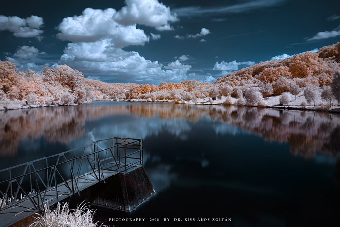 Infrared Photography taken with Cokin P007 infrared filter