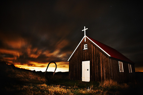 A nightly prayer - Nightscape photography