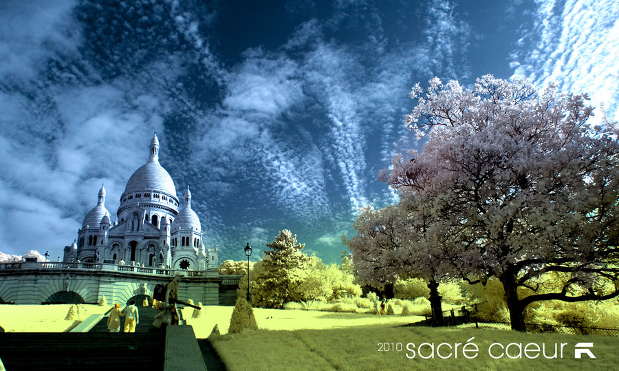 sacre caeur IR taken with Hoya R72 infrared filter