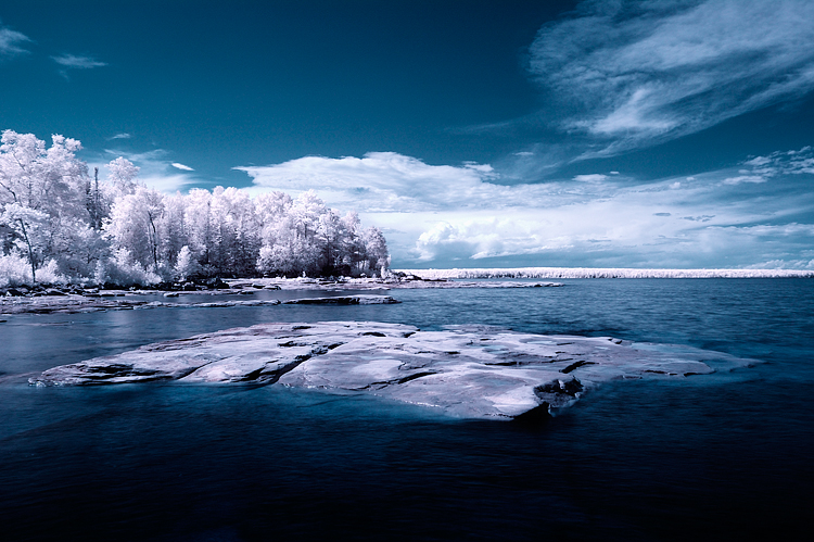 Surreal Infrared image taken with Hoya IR filter and Nikon 17-35mm
