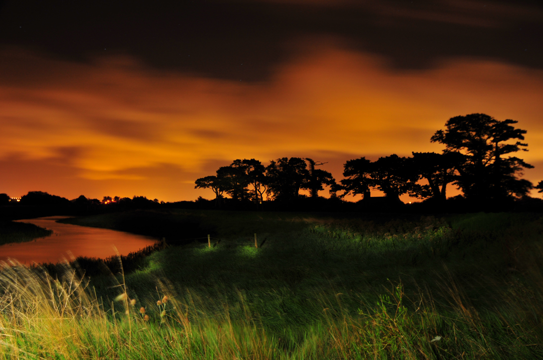 Severn Glow - Nightscape photography