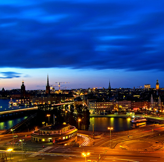 Stockholm night - Nightscape photography