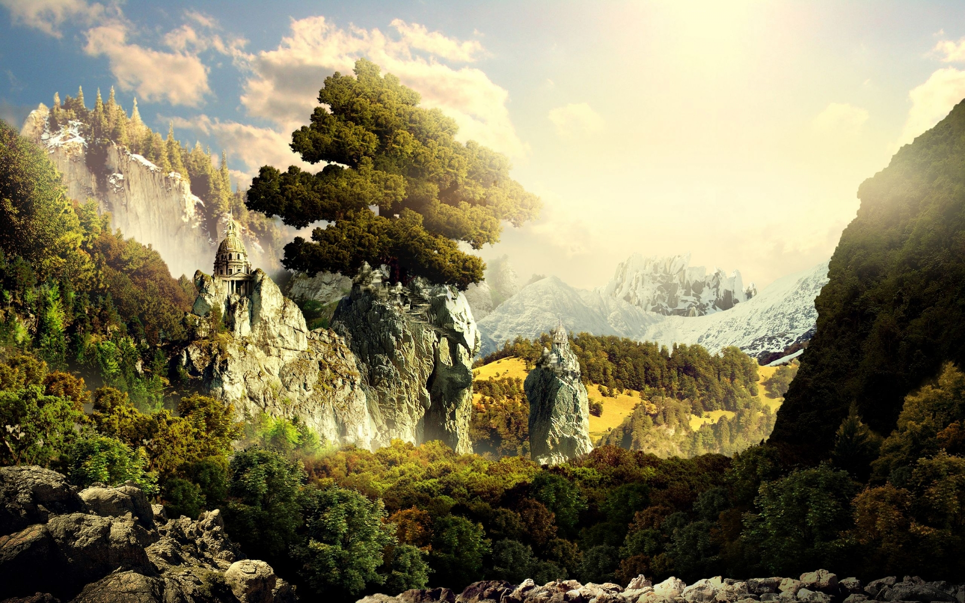65 amazing high resolution 3d wallpapers for your desktop - 3d fantasy wallpaper ...